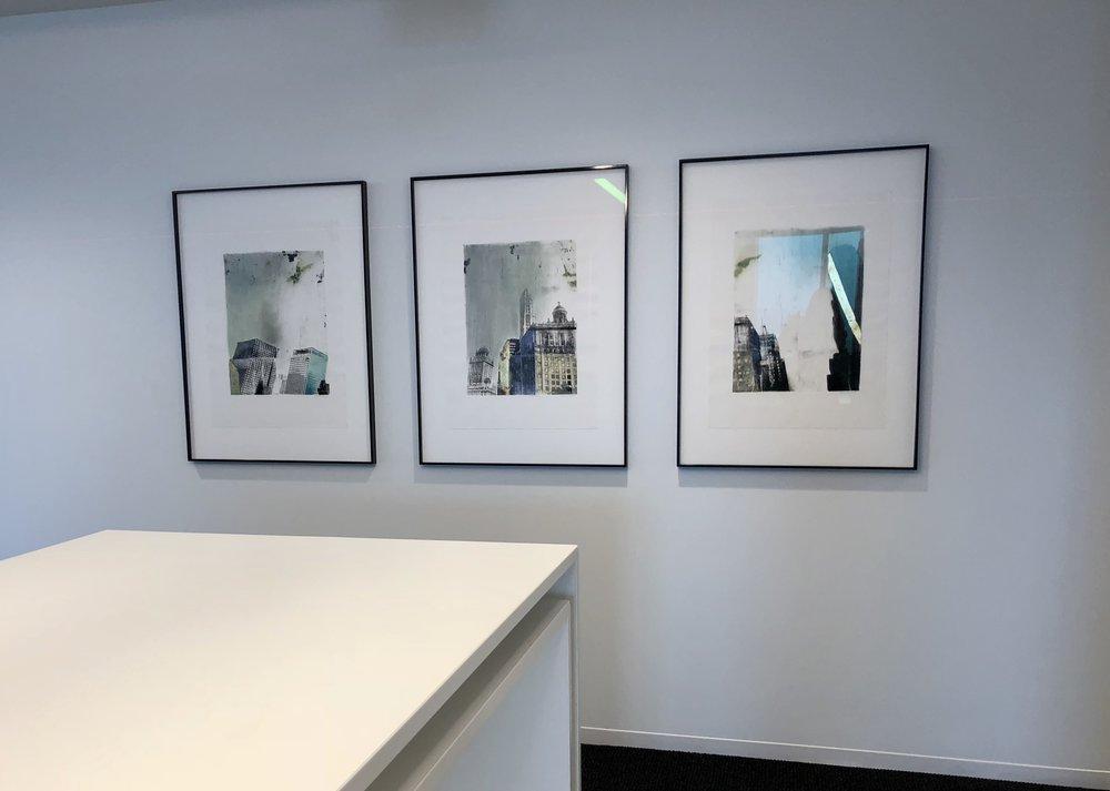 Corporate Office, Designed by Solomon Cordwell Buenz. Art by Julie Cowan.