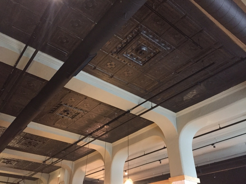 Amazing 161 year old original Tin Ceiling