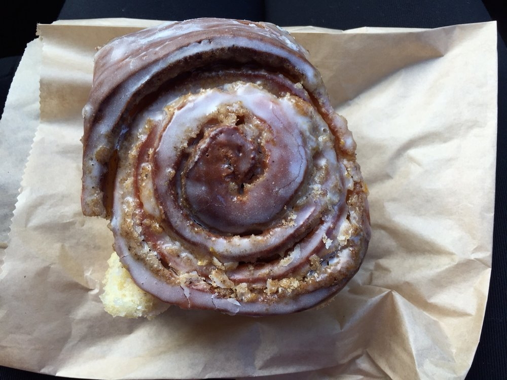 Tandem Brown Butter Orange Cinnamon Roll- Pure Heaven