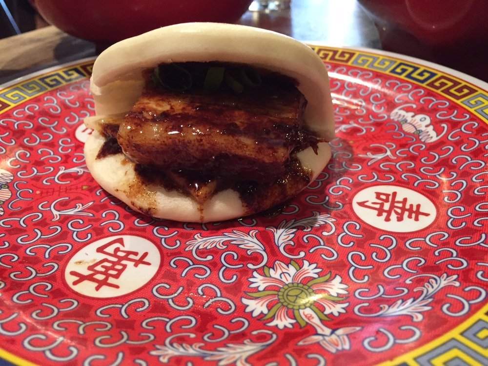 Braised Pork Belly Bao