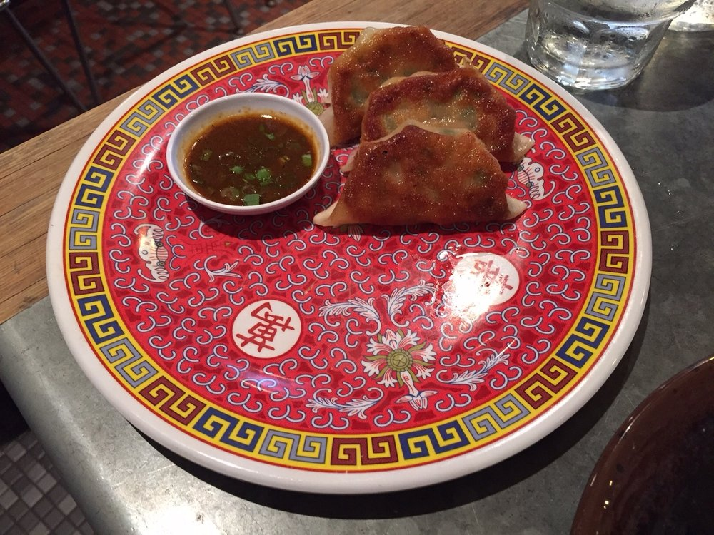 Mama Chang's Pork + Chive Dumplings