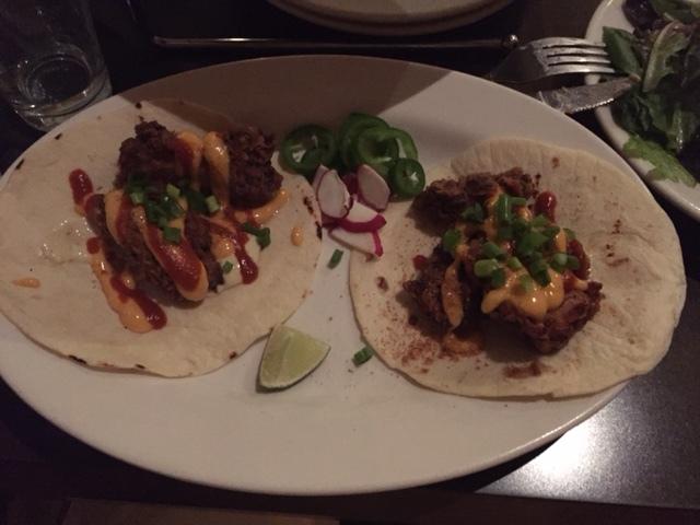 Sriracha Chicken Tacos