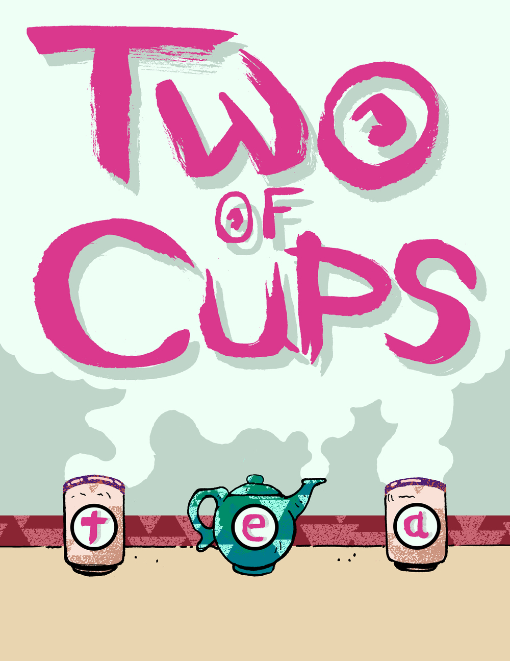 Two of Cups Tea Ad