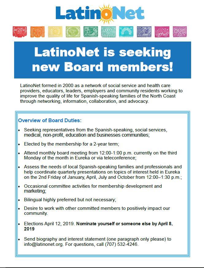 Board  Flyer link here