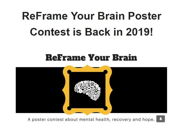 Un concurso de carteles sobre salud mental, recuperación y esperanza.   ReFrame Your Brain invita a todos los residentes del Condado de Humboldt a compartir mensajes de amor, apoyo y recuperación para aquellos que viven con problemas de salud mental en nuestra comunidad.   Aprende más sobre el concurso.