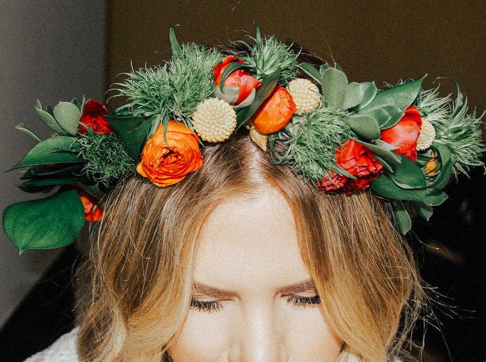 via thea diy flower crown sf flower mart