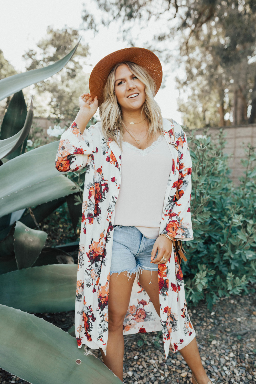 via Thea My Summer Kimono