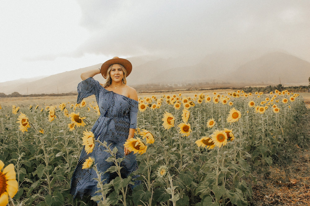 via Thea Maui Sunflower Fields