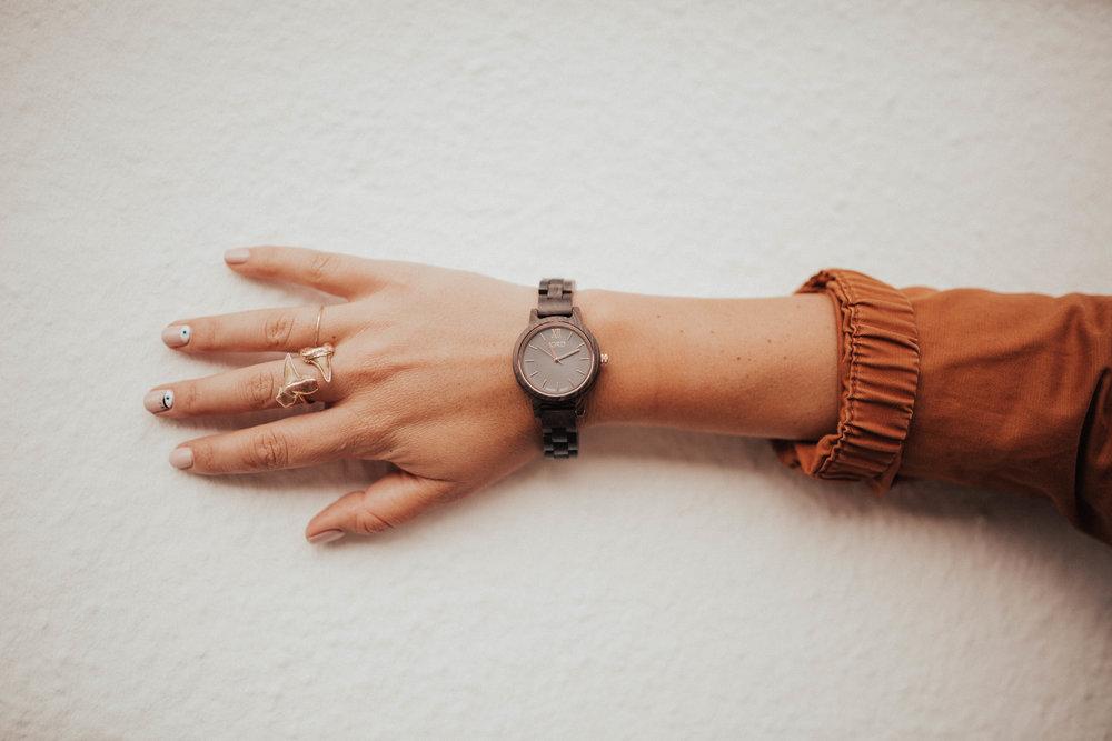 jord wood watch via thea