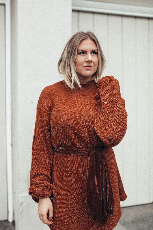 via Thea Free People Sweater Dress