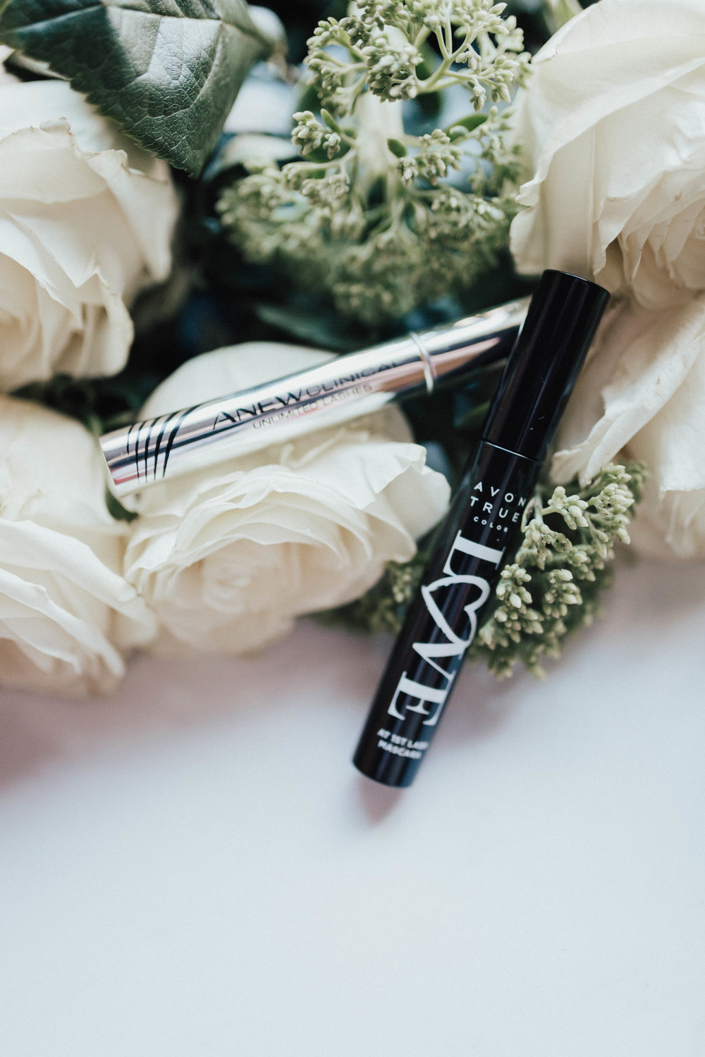 via Thea: Amping Up My Lashes with Avon