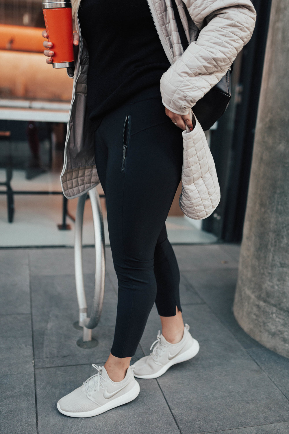 via Thea: WorkInYourWorkout with Athleta