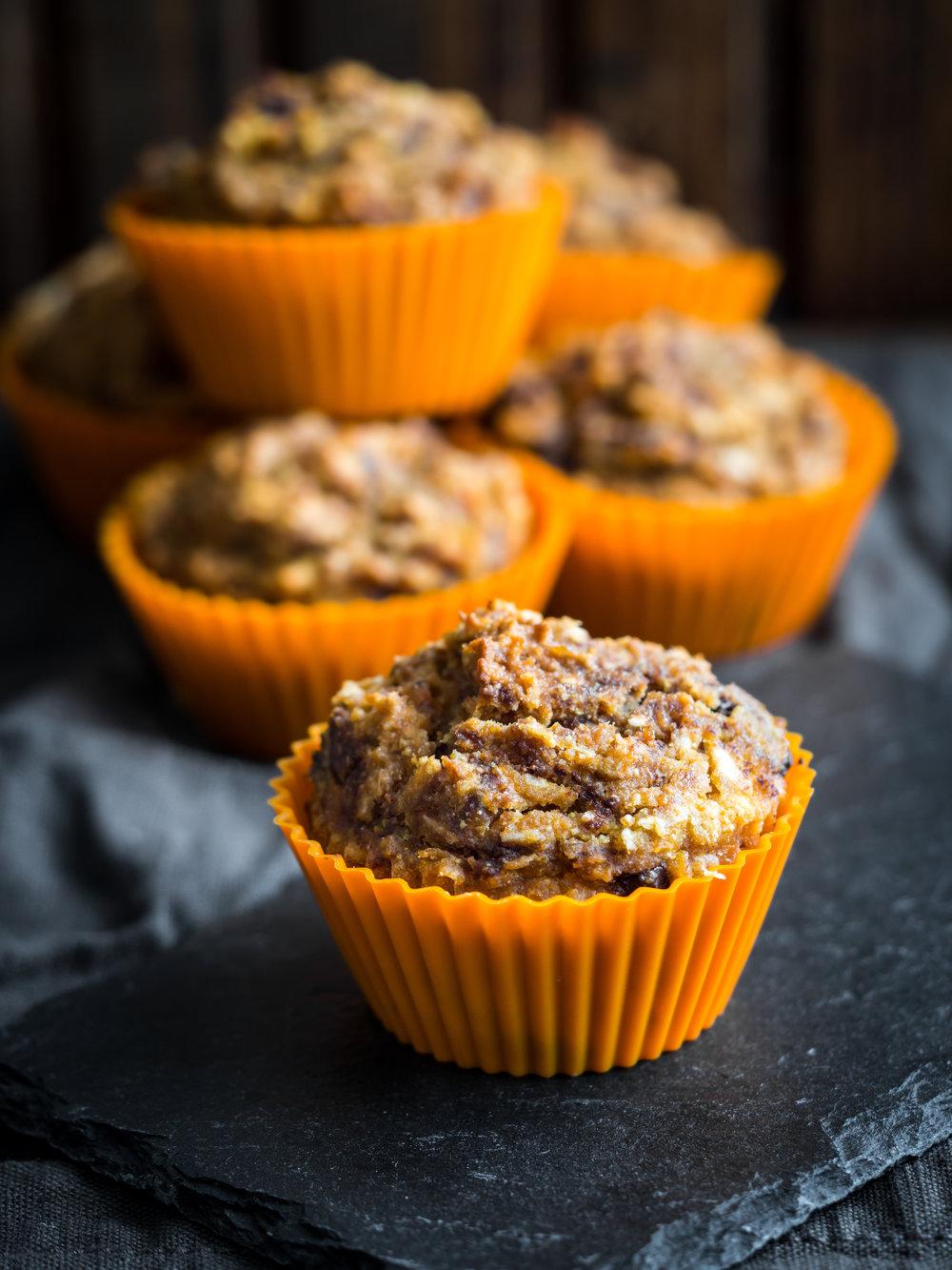 via thea: pumpkin muffin recipe