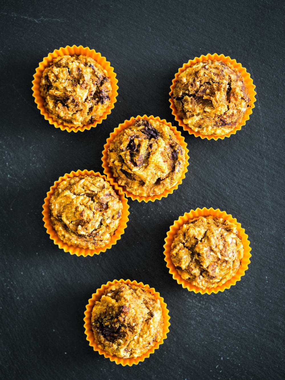 via thea: healthy pumpkin muffin recipe