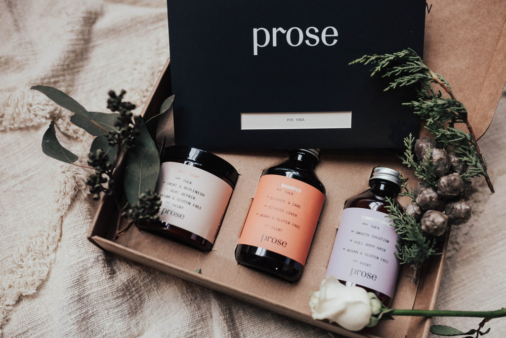 via Thea: Prose custom hair care