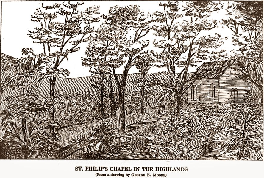 18th C: St. Philip's Chapel