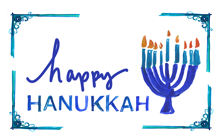 Happy Hanukkah The Forest Feast