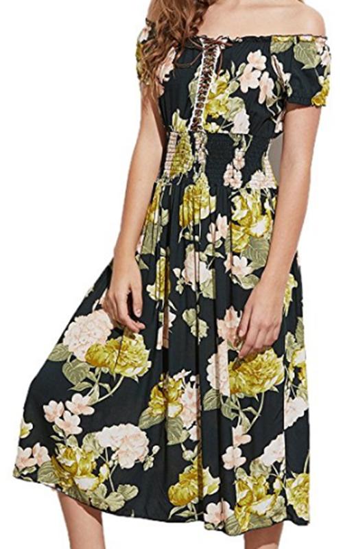 Milumia Lace-up Dress