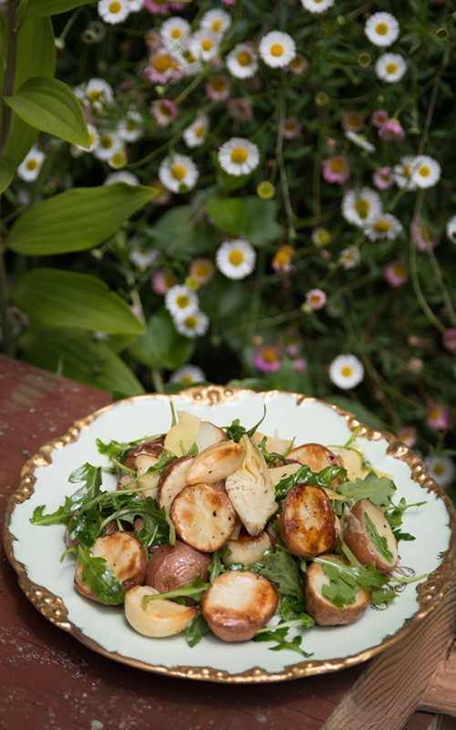 Potato & Artichoke Salad
