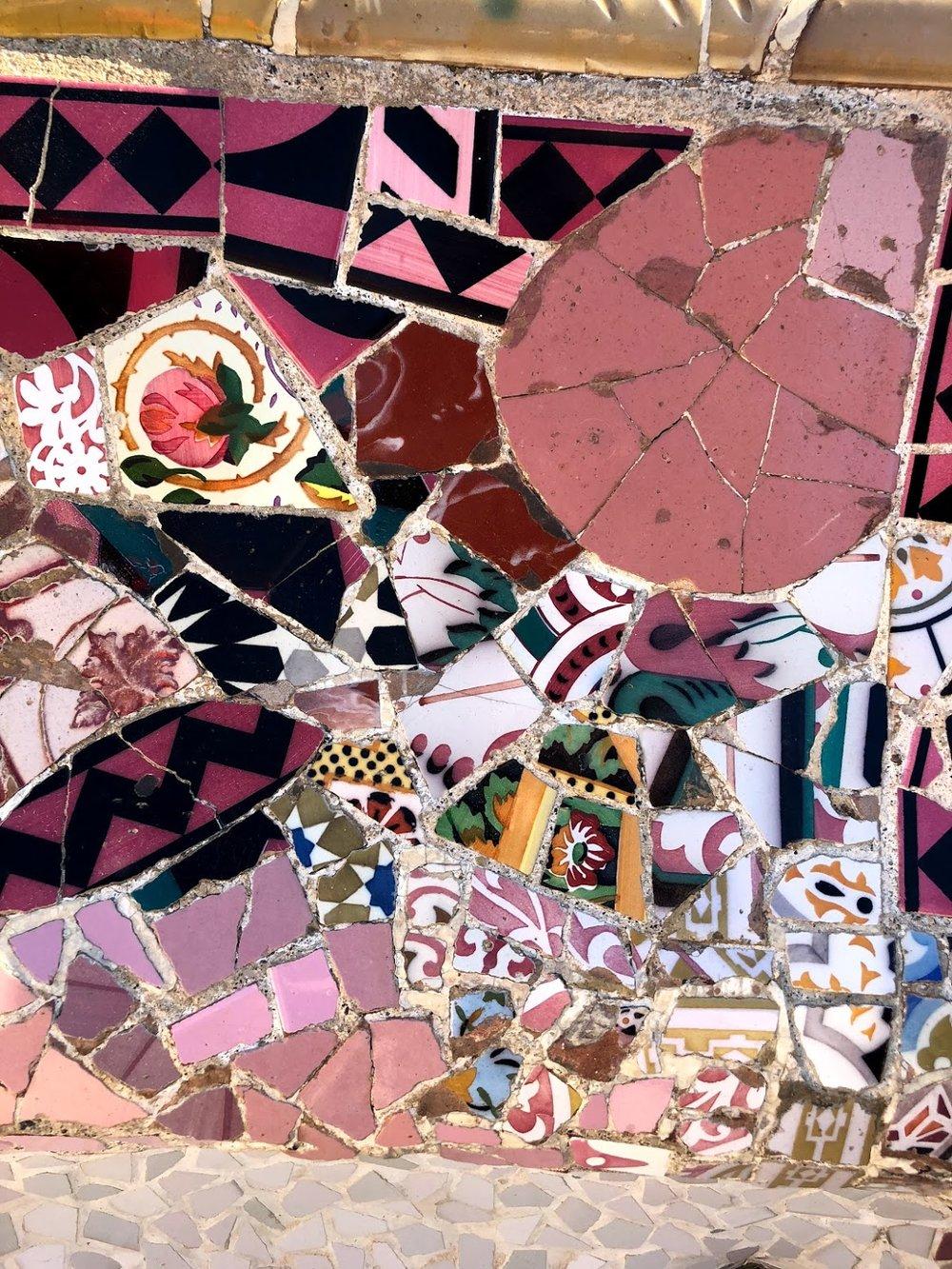 Park Guell detail, Barcelona