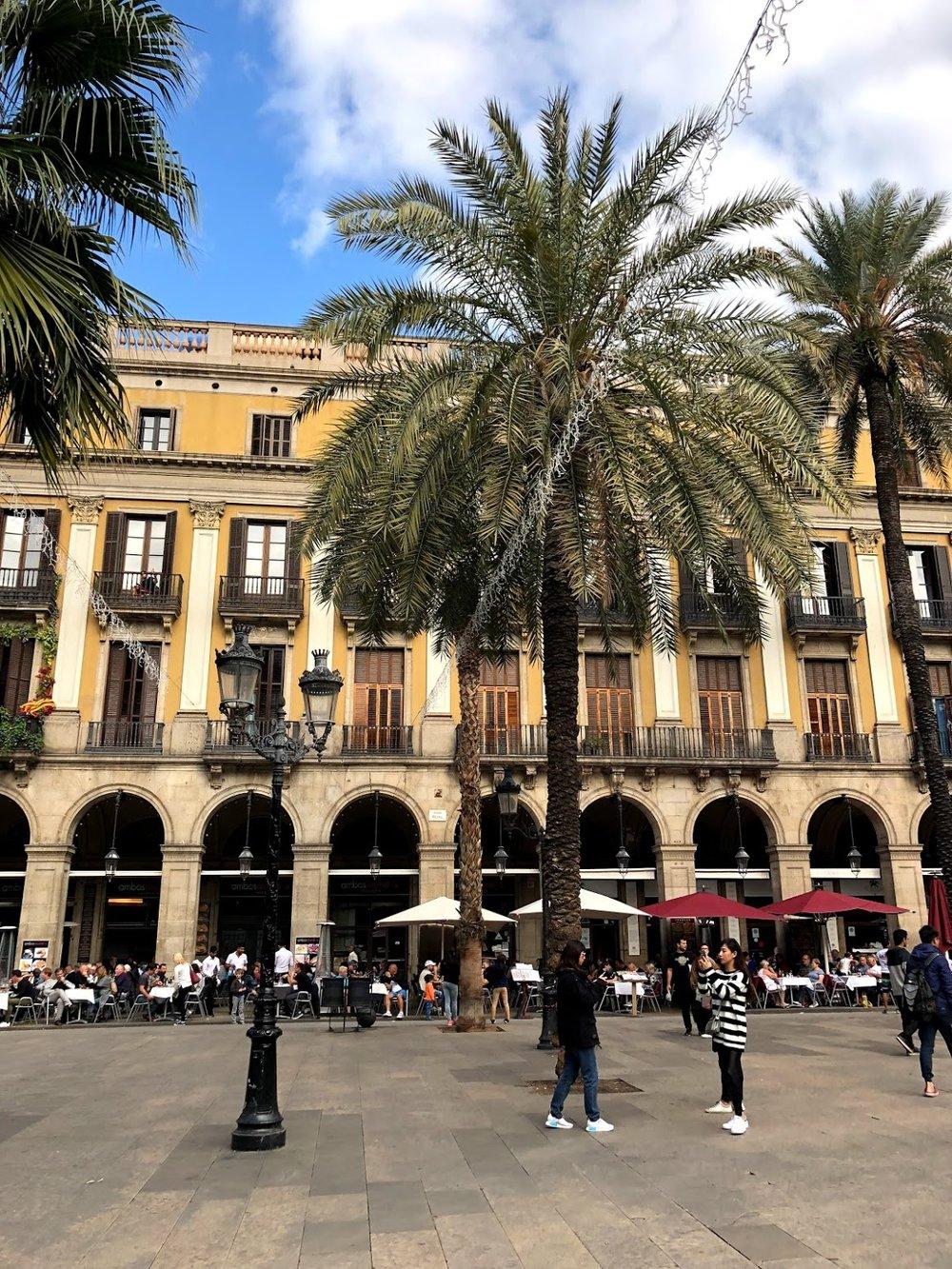 Placa Reial- Barcelona