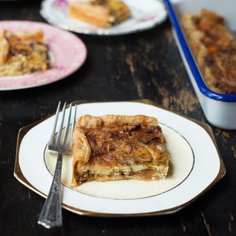 VIDEO:  Onion Tart  (2 minutes)