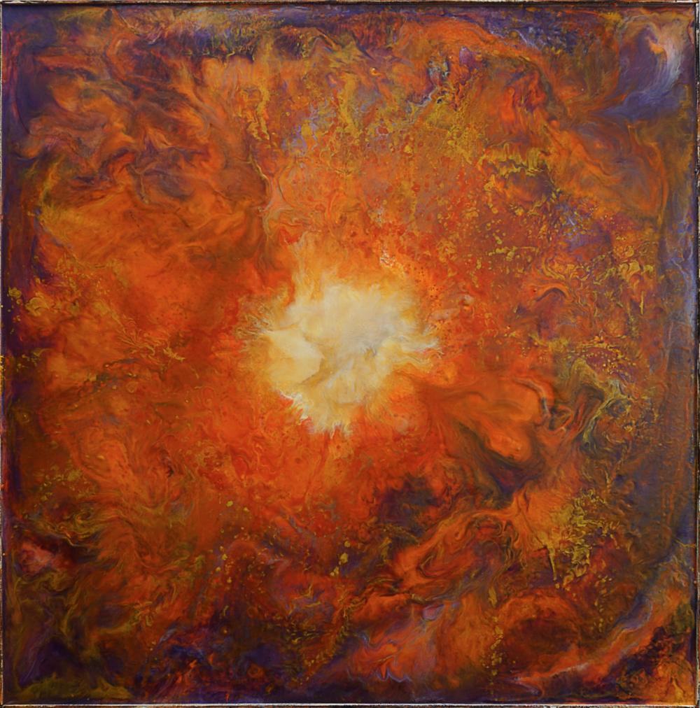 Spiraling Mandala