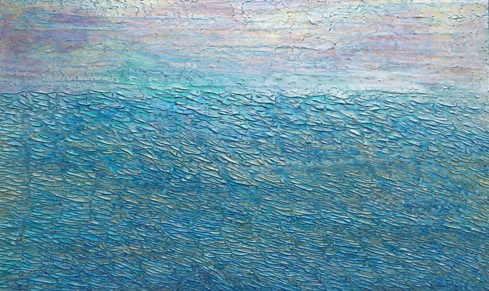 Endless Ocean of Blue (Sold)