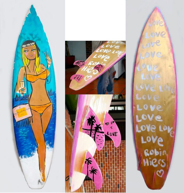 LOVE LOVE LOVE SURF (Sold)