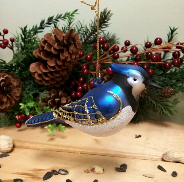 We have bird ornaments of all kinds.