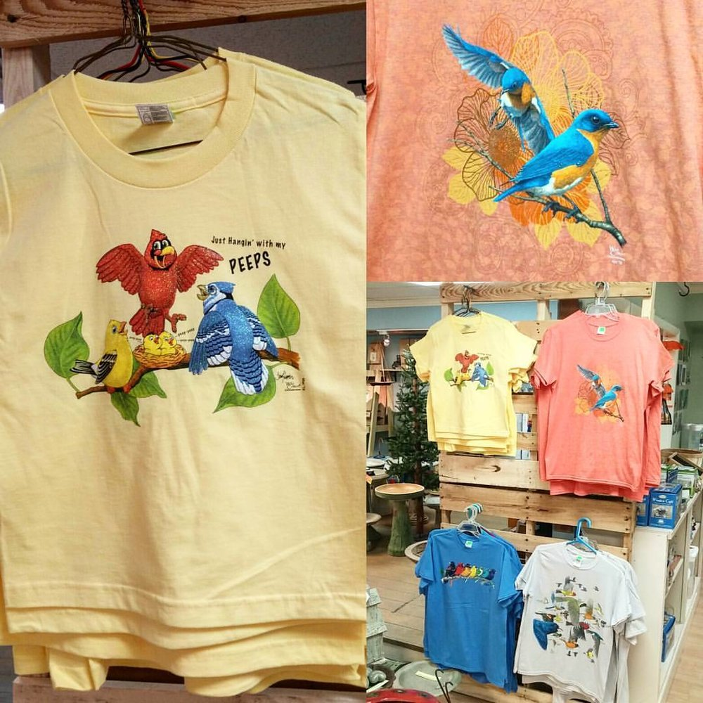 Bird T-shirts!