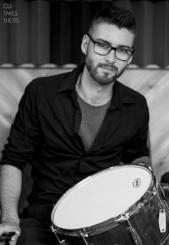 Samuel Morin, Professeur de batterie