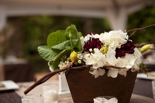 maui floral arrangement for the table