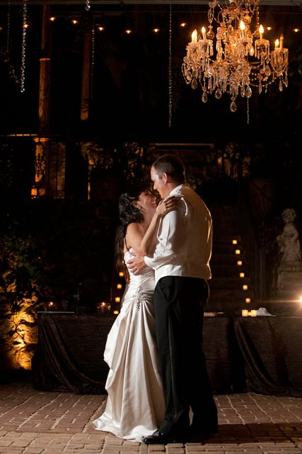 bride and groom dance at haiku mill maui