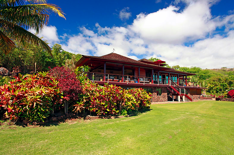 exterior of Lanai wedding venue