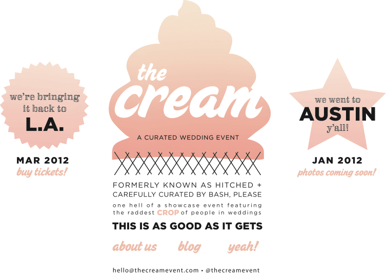 The Cream flyer