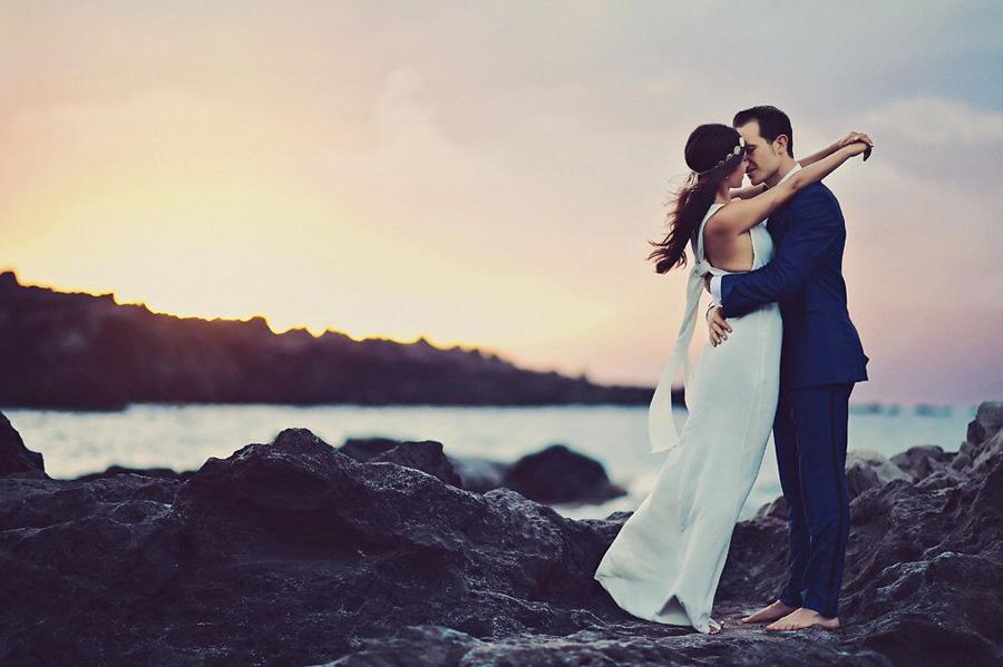 Bride, Groom, Bride and Groom, Wedding, Wedding Day, Hawaii