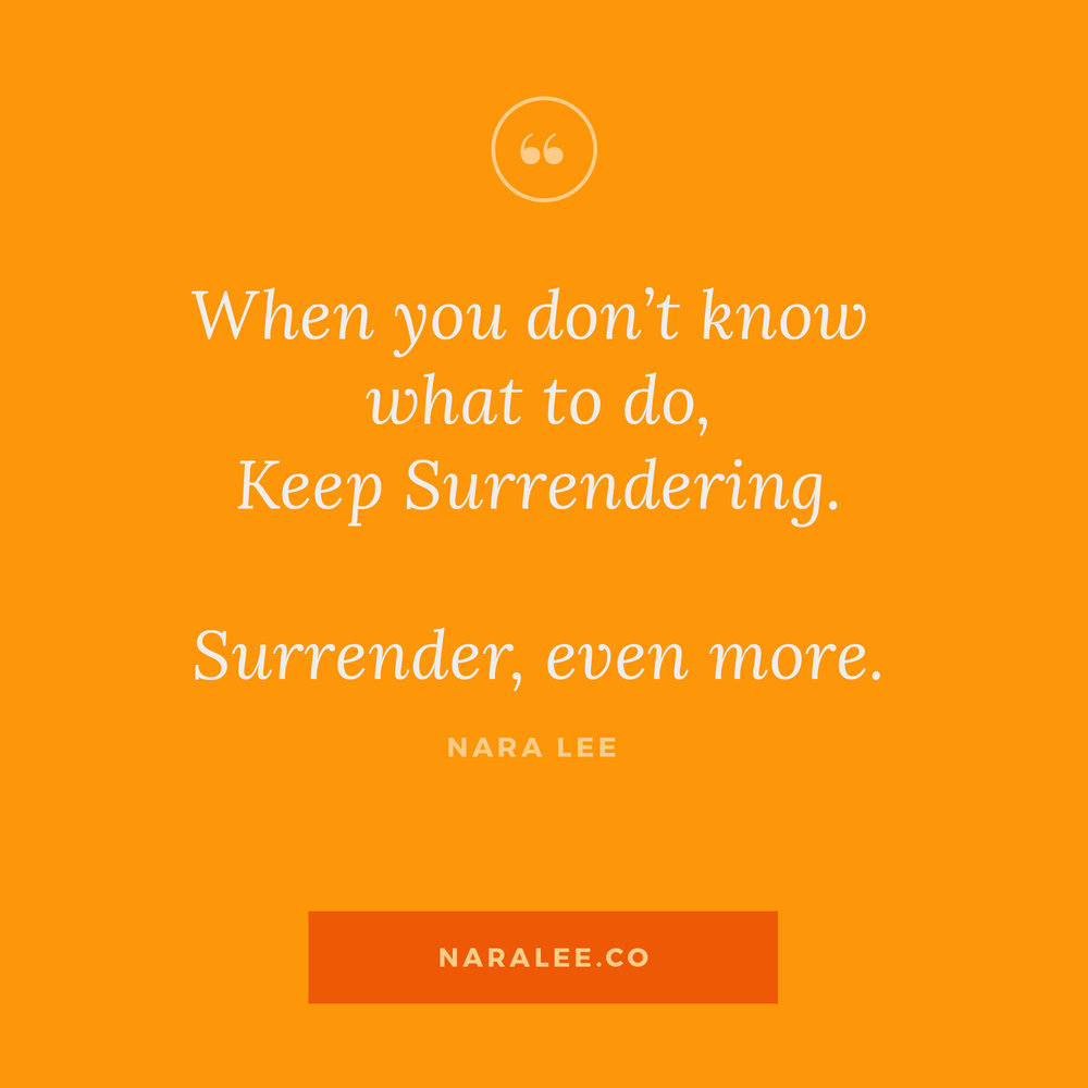 [Rising-Strong-Quotes] Nara Lee Quotes - Surrender.jpg