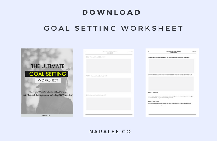 Nara Lee 5 Proven Ways To Set Goals And Achieve Them Nara Lee