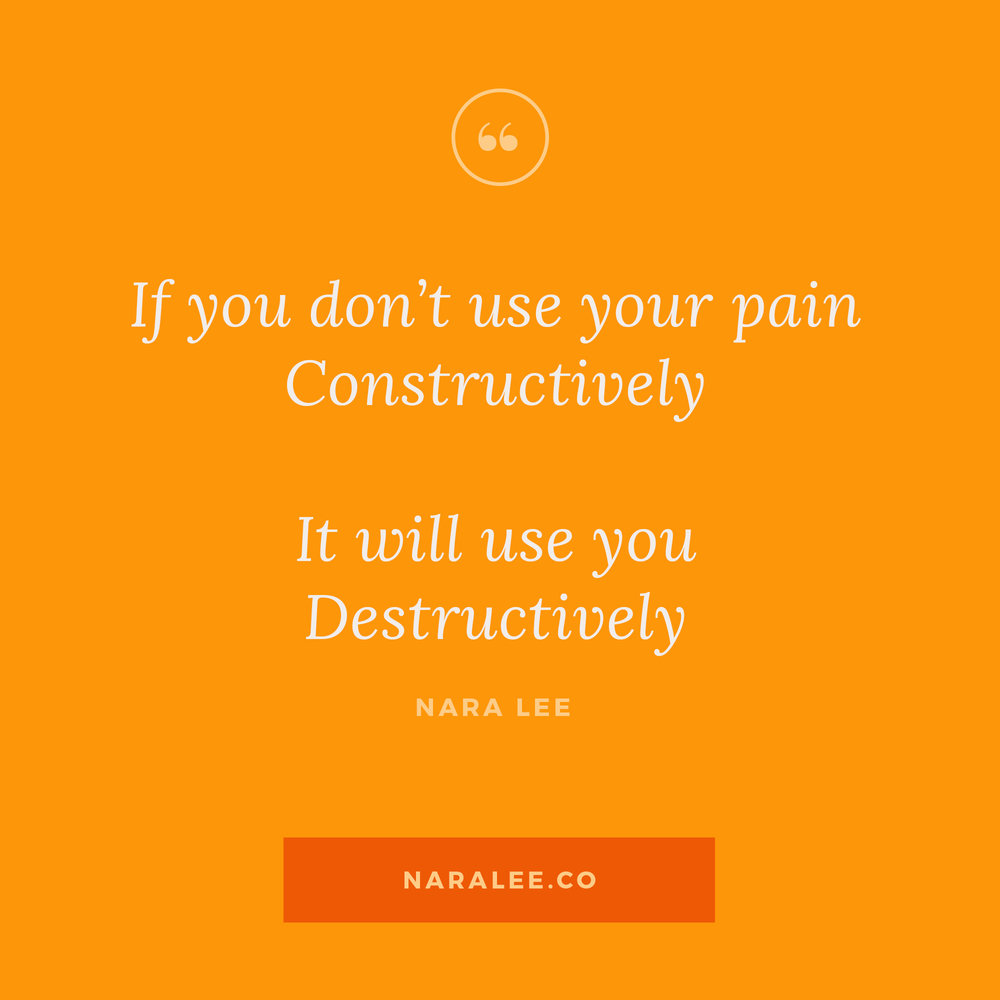 [Rising-Strong-Quotes] Nara Lee Quotes - Forgiveness Quotes-Use your Pain Constructively.jpg