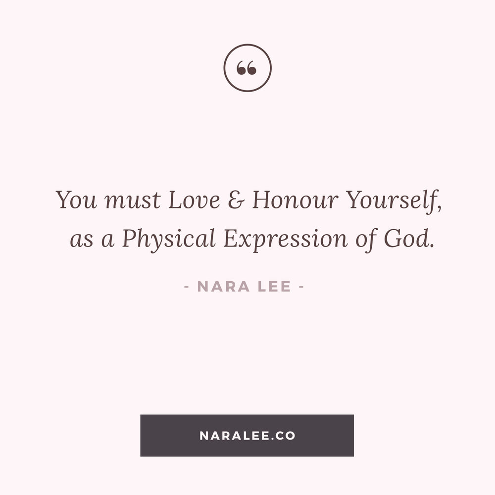 Nara Lee Love Yourself As God Inspirational Quotes