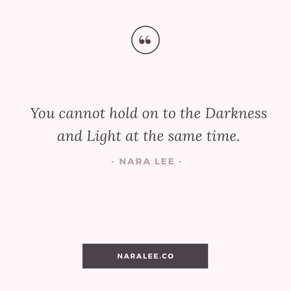 Quotes Light Nara Lee Light & Darkness  Inspirational Quotes
