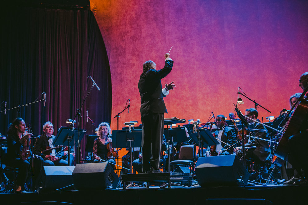 Gary Fagin conducting the KCO for The Renaissance & Renewal Concert - February 10, 2018  Photo Credit:Ryan Muir, courtesy of Arts Brookfield
