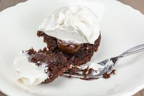 Gluten-Free Ganache-Filled Cupcakes