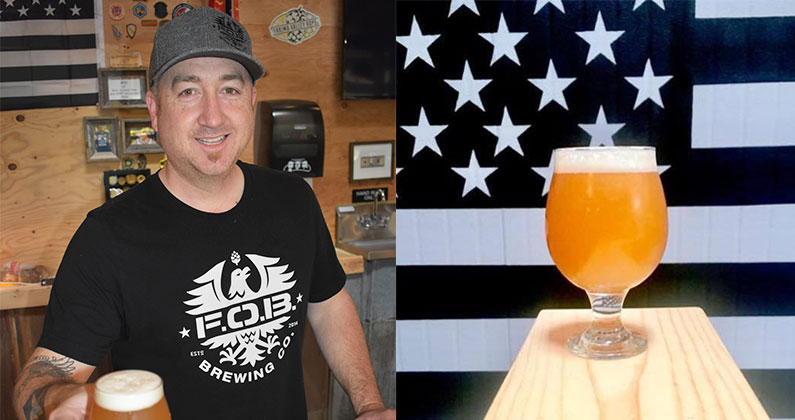 Sip Northwest - 4 Questions with Jared Wharton of Forward Operating Base Brewing Co.By Marguerite Cleveland |April 23, 2018