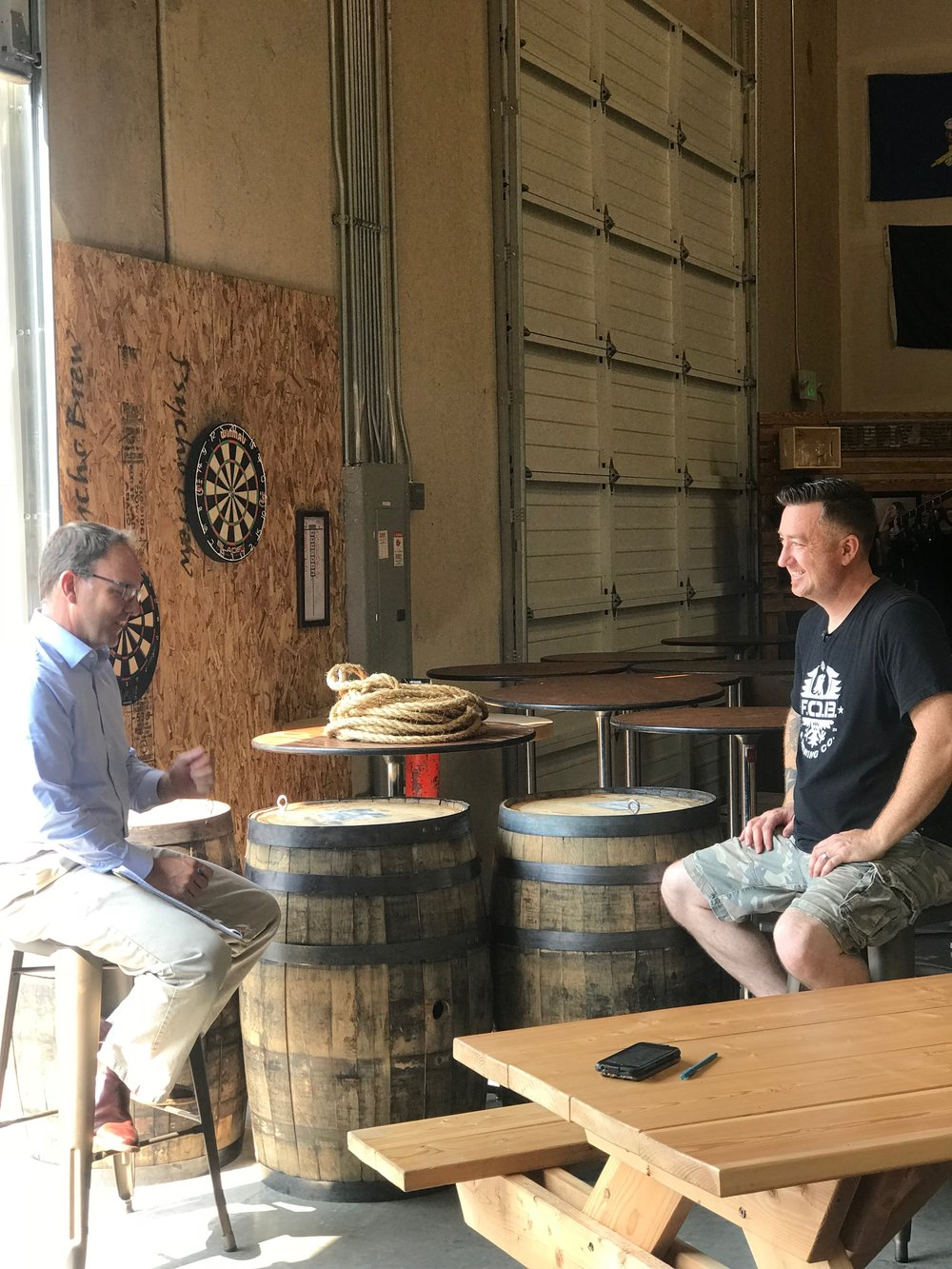 King 5 News - Veteran's brewery in South Sound benefits fellow veteransAn Army veteran employing other veterans at his South Sound brewery hopes to open breweries at every military base in the U.S.Author: Drew MikkelsenPublished: 3:41 PM PDT July 30, 2018