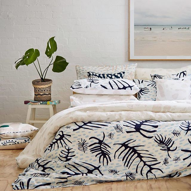 Starting tomorrow! New design launch @thebigdesigntrade #beachcomber #newcollection #australiandesign #parrymulti #linen #bedlinen #slowerdawn #melbournedesign #sustainabledesign #summercollection #prevellyinink #themeatmarket