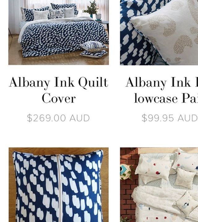 Newbies are up on the website, limited stock available so get them while they're hot hot hot xx #slowerdawn #newcollection #newseason #melbournedesign #linen #bedlinen #slowerdawn #newdesigns #ilovelinen