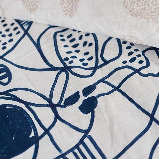 its all in the detail, linen love Mondays #textiles #linen #bedlinen #home #homewares #slowerdawn #beachcomber #leeuwin #melbournedesign