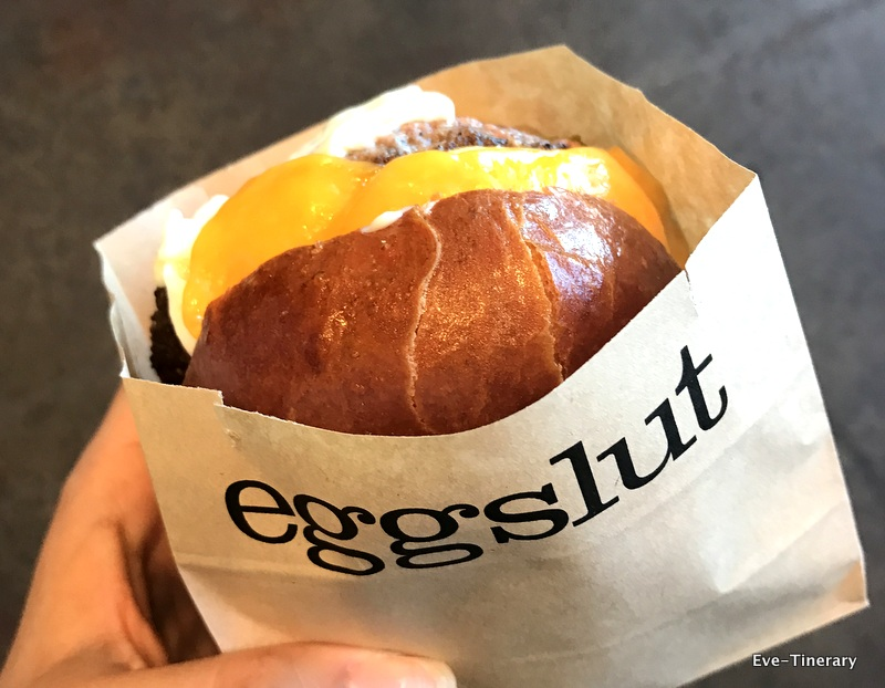 We stopped at  Eggslut  to grab breakfast, and I must say, it was amazing!!!!